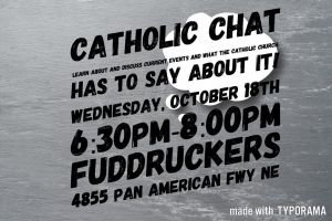 Catholic Chat @ Fuddruckers (I-25 & Jefferson)