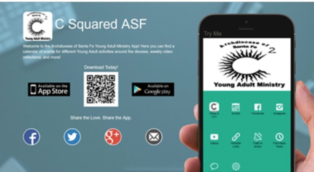 New Archdiocese of Santa Fe Young Adult App!